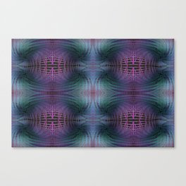Rendering of Theoretical Spacetime and Multiverse Abstract Canvas Print