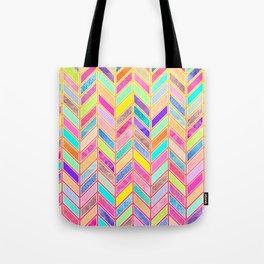Colors Everywhere Tote Bag