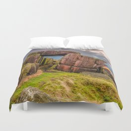 Gate to the skies Duvet Cover