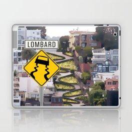Lombard Street - San Francisco Laptop & iPad Skin