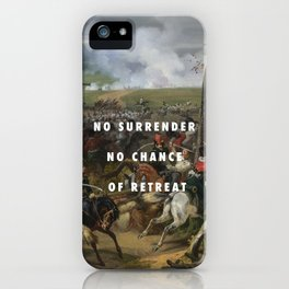 Red Lights Indicate Redcoats iPhone Case