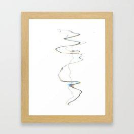 Scanner Drawing Framed Art Print