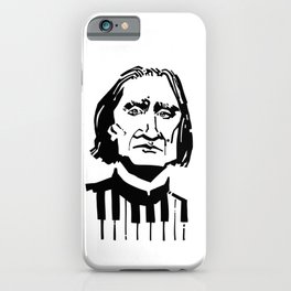 Liszt iPhone Case