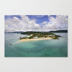 Day Dream Island QLD Canvas Print