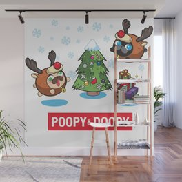 Poopy and Doopy Wall Mural