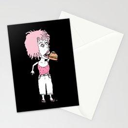 Burger Lovin Lady Stationery Cards