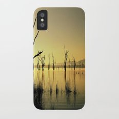 The Golden Lake iPhone X Slim Case