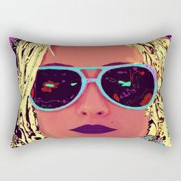 Alabama Blonde Rectangular Pillow