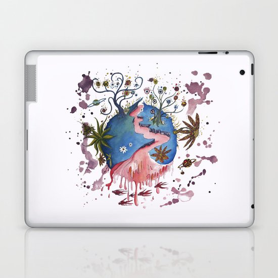 The strange planet Laptop & iPad Skin