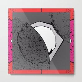 Modern Art Shapes Metal Print