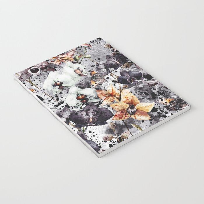 Flowers & Butterflies Notebook