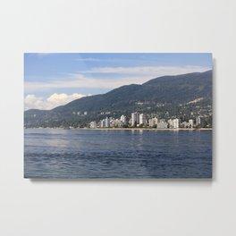 North Vancouver Metal Print