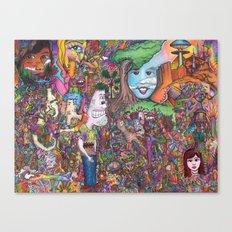 Take A Look Canvas Print