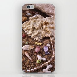 Pearls In The Sand iPhone Skin