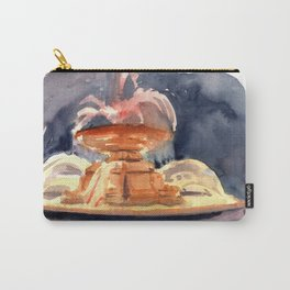 Bryant Park Fountain at Night Carry-All Pouch