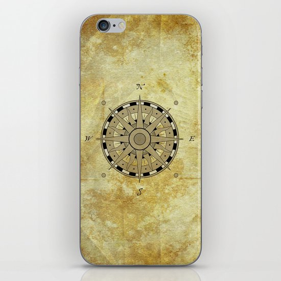 Compass Rose iPhone & iPod Skin