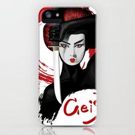 Geisha Japan Anime Fan iPhone Case