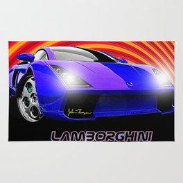 Lamborghini Gallardo (2) Rug