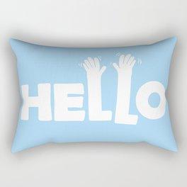 HELLO! Rectangular Pillow