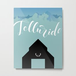 Telluride Colorado Metal Print