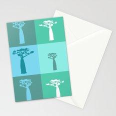 Baobab Azure Stationery Cards