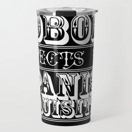 Best of british tv | Monty Python | Nobody expects the Spanish inquisition Travel Mug