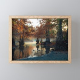 Autumn Sunrise Framed Mini Art Print