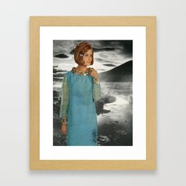 The Lady of the Loch Framed Art Print