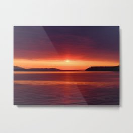 Colorful Sunset Metal Print