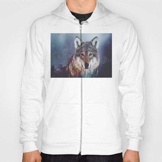 Wolf Double exposure Hoody