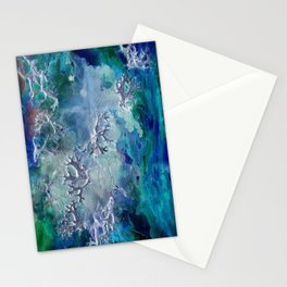 Lunar neuronal essence Stationery Cards