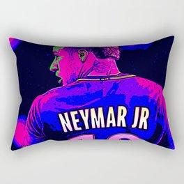 Neon Neymar Rectangular Pillow