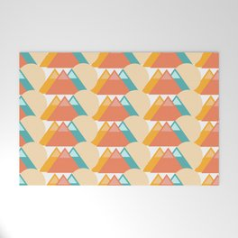 Bright Mountain Welcome Mat
