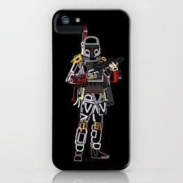 Boba Font iPhone Case