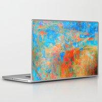 contemporary Laptop & iPad Skins featuring Contemporary Dance  by Fernando Vieira