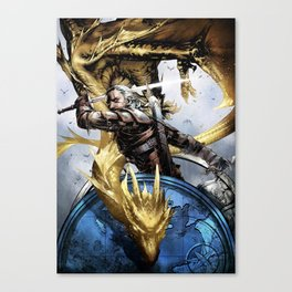 The witcher Ⅱ Canvas Print