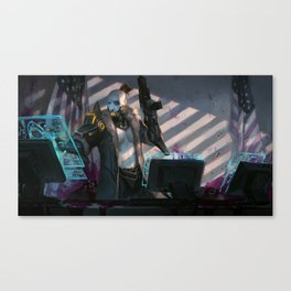 Wolf - Space Assassin Canvas Print