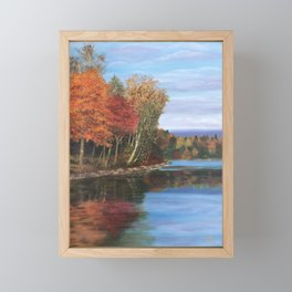 Autumn Splendor Framed Mini Art Print