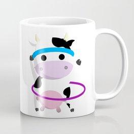 TeeTee - The Aerobic Cow #01 Coffee Mug