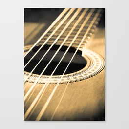 On A String Canvas Print