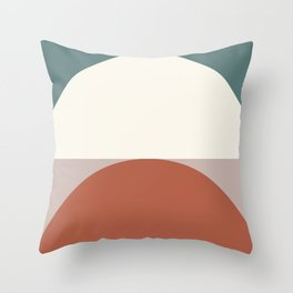 Abstract Geometric 01D Throw Pillow