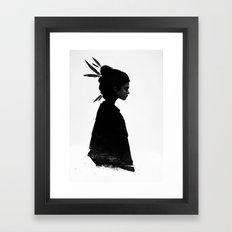 Never Never Framed Art Print