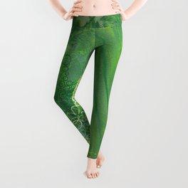 It's Not Easy Being Green Leggings