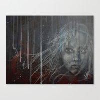 les miserables Canvas Prints featuring Cossette ~Les Miserables by prestone85