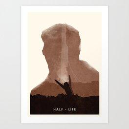 Half Life (II) Art Print