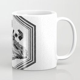Millennium Falcon Art - StarWars Dot-work Pointillism Fan Art Coffee Mug