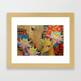 Mother Love Framed Art Print