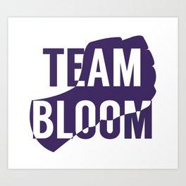 Team Bloom Art Print