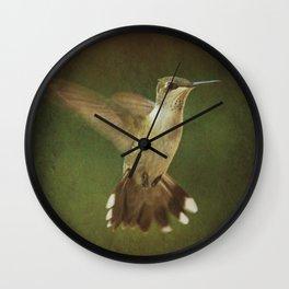 In Mid Air Wall Clock