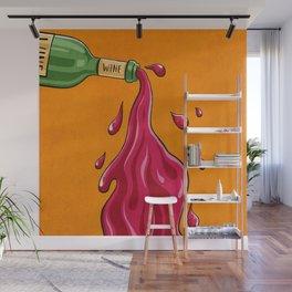 Bottled Poetry Wall Mural